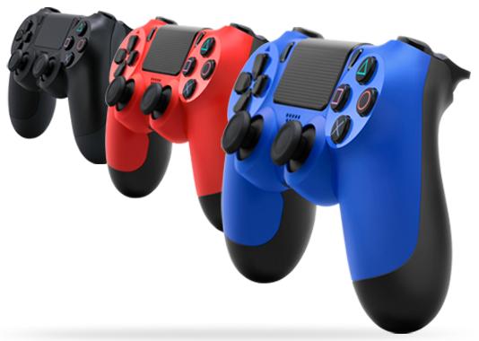DualShock 4 Controller V2 (Black, Blue, Red, Camouflage) - £36.85 - Shopto