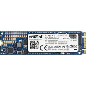 Crucial MX300 525GB M.2 2280 Internal Solid State drive £133.19 Amazon