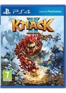 Knack 2 [PS4] £20.85 / Injustice 2 [PS4] £24.85 @ Base