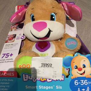 Fisher-Price Laugh & Learn Smart Stage Sis £9 instore @ Tesco (Exeter)