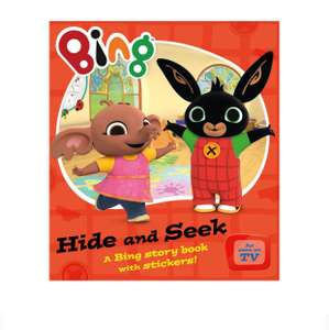 Bing hide and seek book half price £2.49 @ Debenhams