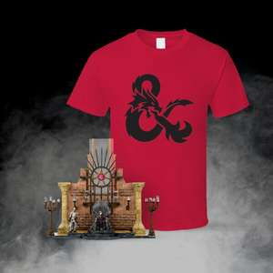 Game of Thrones Construction Kit and D&D T-Shirt just £9.99 delivered @ Zavvi