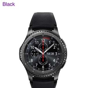 Samsung Gear S3 SM-R760 Frontier Bluetooth Smart Watch - Black - £207.99 @ Toby Deals