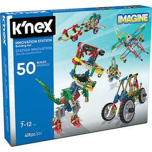 KNEX Innovation Station Building Set Was £34.99 now was £17.49 Save 50% @ The Entertainer