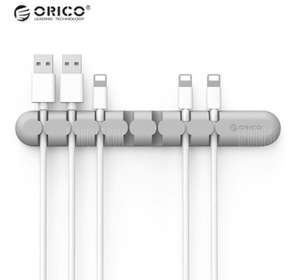 ORICO CBS7 Desktop Cable Organizer Silicone Wire Holder Clip 73p Delivered with code @ Gearbest