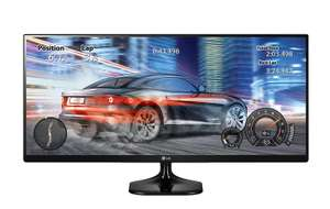 LG 25UM58-P 25-Inch 21:9 UltraWide FHD IPS Monitor, £129.99 from ebuyer