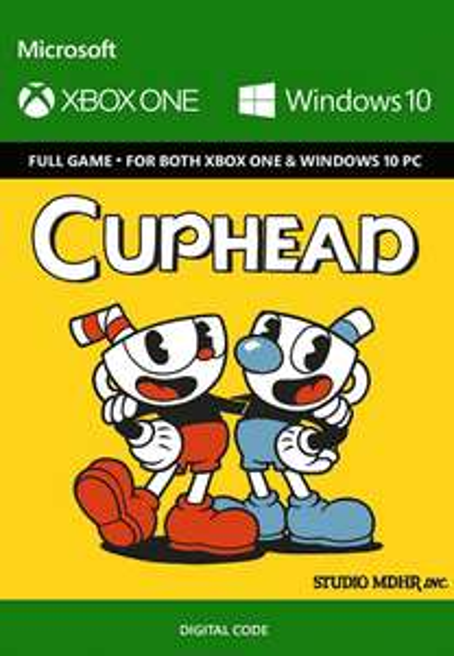 Cuphead on XBOX/PC £14.69  CDKeys