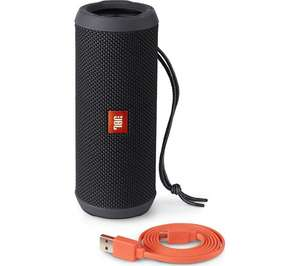 JBL Flip 3 Portable Bluetooth Wireless Speaker (Splashproof, Speakerphone, 3000mAh Battery) - Black - Was £79.99 now £64.99 @ Currys