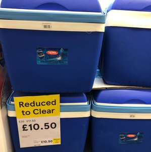 Huge 32 L Thermos coolbox reduced to £10.50 instore @ Tesco  Martlesham