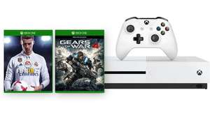 Xbox One S 500GB Console + FIFA 18 and Gears of War 4 only £199.99 @ Microsoft