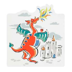 Dragons Shaped Sticky Notes Was £4.00 Now £2.00 C+C for Free  (+£3.95 P&P for home Del) in the Cath Kidston Mid Season Sale