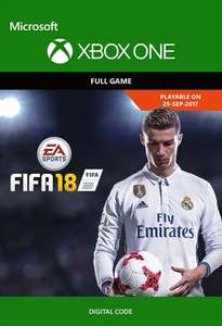 Fifa 18 xbox one digital download £45.99 or £43.69 with 5% off facebook code @ CDKeys