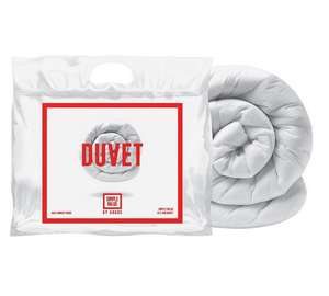 Simple Value 10.5 Tog Duvet - Single ONLY £5.50 @ Argos