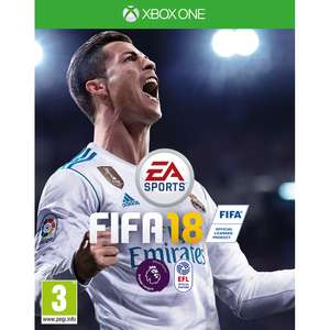 Fifa 18 Standard edition Xbox One + PS4 ...cheapest so far - £42.99 (Free Delivery) with £5 off code @ Toys R Us