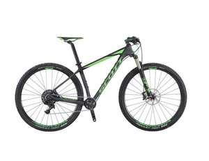 Scott Scale 720 27.5 Inch Carbon Mountain Bike Black Green £1,199.99 using code @ Rutland Cycling