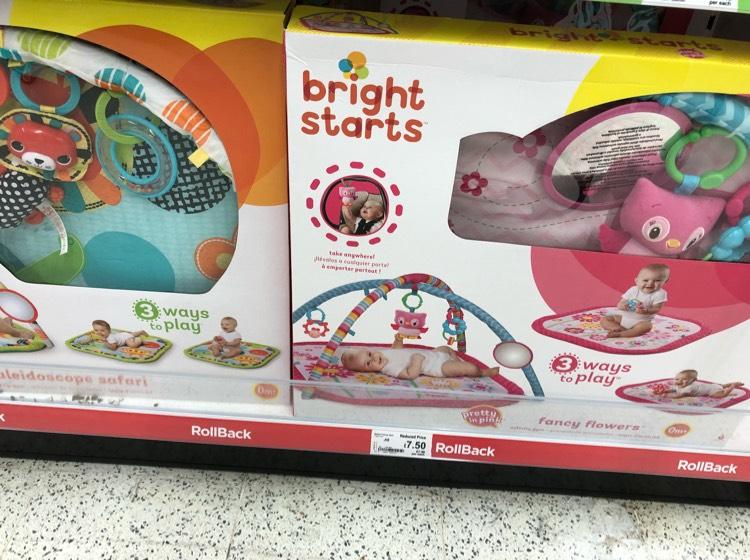 Bright Start Baby Gym - Half Price - £7.50 instore @ Asda - Brighton