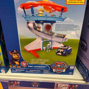 Paw Patrol Lookout Playset - £32.99 instore @ The Entertainer
