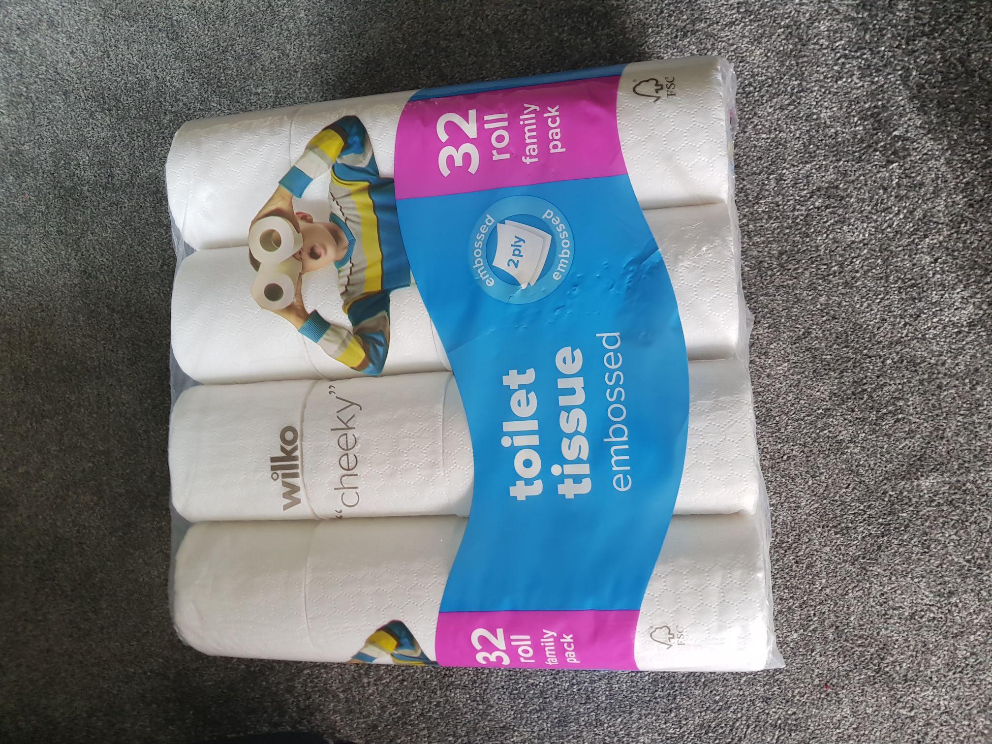 Wilko Toilet Tissue 32 Rolls for £5 instore