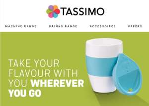 FREE cup 2 go when you order above £35 @ Tassimo.