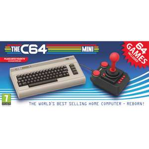 The C64 Mini - Preorder for 2018 release - £69.99 @ IWOOT