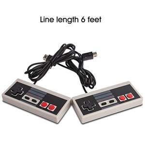 NES Controllers - 2 Pack (Third Party) + twin pack 10ft extension cables (worth £4.99) free - £5.99 (Prime / £9.98 non Prime) - Sold by Airmatee and Fulfilled by Amazon