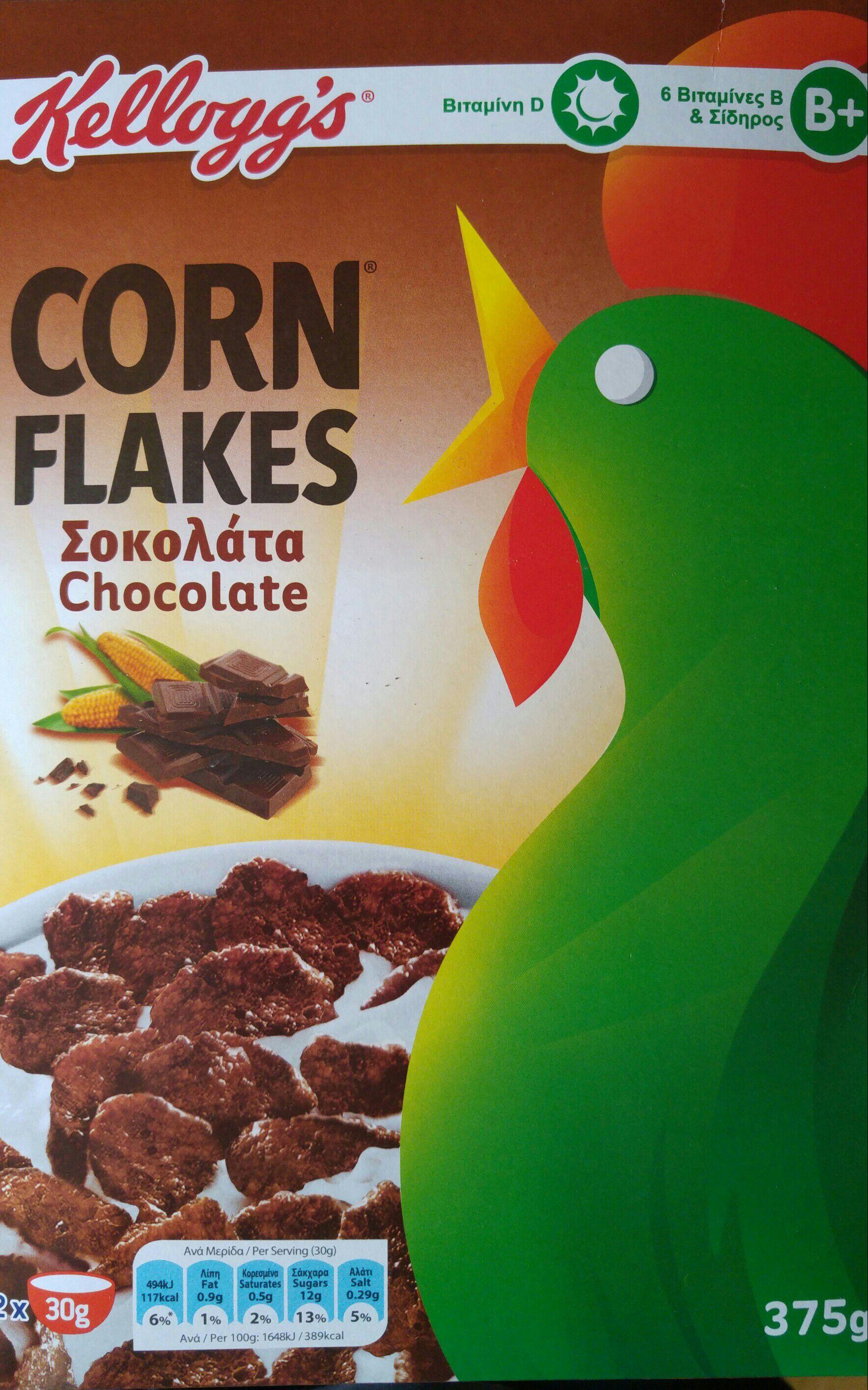 Kellogg's chocolate cornflakes 375g 99p @ Heron Foods