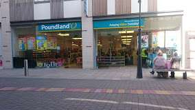 Everything half price - Poundland at bury the rock shopping centre closing weds 4th october