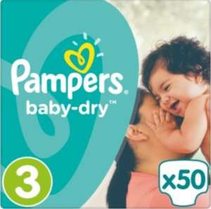 Pampers 3 large packs for £12 (£8 each). Offer available until 3rd October @ Waitrose