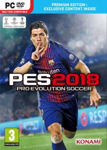 Pro Evolution Soccer (PES) 2018 - Premium Edition PC £19.94 with FB like code @ CD Keys