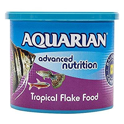 Aquarian Tropical Fish Food 200g £5.25 prime £4.99 S&S (plus £3.99 P&P for non-Prime)