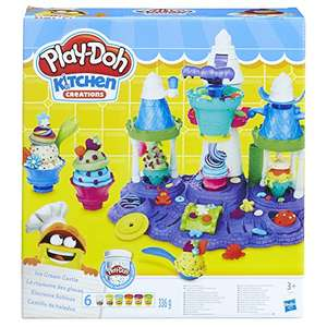 Play Doh Ice Cream Castle playset £10.00 (Prime) / £14.75 (non-Prime) at Amazon