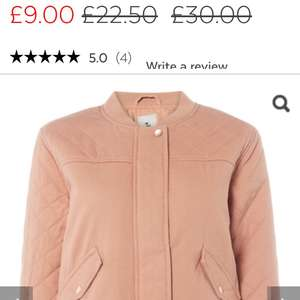 Jacket reduced from £30.00 to £9.00 instore @ sainsburys (Hamilton)