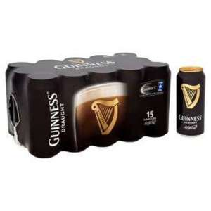 Guinness Draught 15 cans for £12 @ Asda