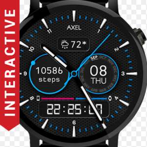 Axel Watch Face now FREE (was 99p) @ PlayStore