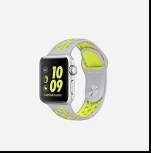 APPLE WATCH NIKE+ SERIES 2 (38MM) OPEN BOX RUNNING WATCH Was £369 at Nike for £220.97