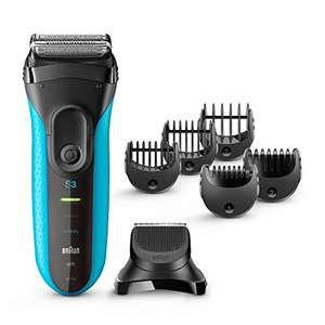 Braun Series 3 Shaver - 3 in 1 Wet and Dry at Amazon for £47.99