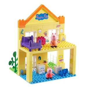 Peppa Pig Deluxe House Construction Set £14.99 (Free collection in store, £2.99 delivery or spend £5 on something else to qualify for free shipping) at Smyths