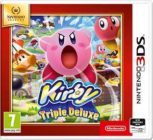 Kirby Triple Deluxe & Luigi's Mansion 2 £12 (Prime) + £1.99 Non Prime @ Amazon