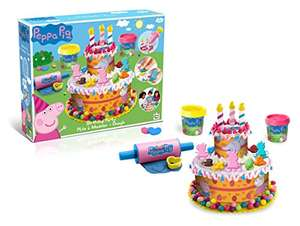 Peppa Pig Ultimate Dough Play Set with Cutting Moulds & Cutters £8.99 prime / £13.74 non prime @ Amazon