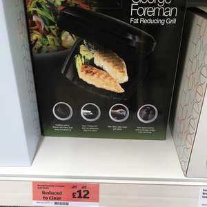 George foreman 2 portion grill scanning at £6 @ Sainsbury's Eltham