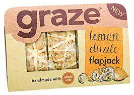 Graze Flapjacks half price 59p at Tesco (found at Roker, Sunderland but seemingly a national deal)