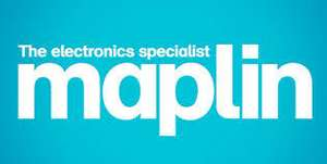 Maplin £5 or £10 Off Voucher with £50 and £100 Spend