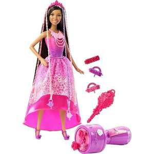 Home Bargains - One for the kids - Instore - Barbie Endless Hair Kingdom Nikki doll £9.99