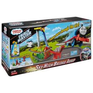 Thomas & Friends TrackMaster Sky-High Bridge Jump Set (£39.99 with £10 off a £50 spend just add batteries for £2.49) @ Smyths toys