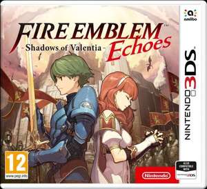 Fire emblem echoes: shadows of valentia £22.99 @ ebay via Argos