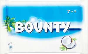 Bounty Bar (7 x 57g) was £2.67 now £1.50 @ Morrisons