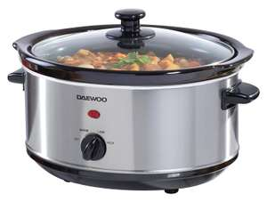 Daewoo 3.5L Slow Cooker - £14.44 using code @ Robert Dyas