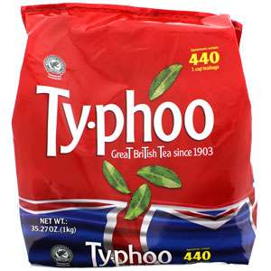 Typhoo 440 (1 Cup) Tea Bags (1kg) ONLY £2.00 @ Iceland