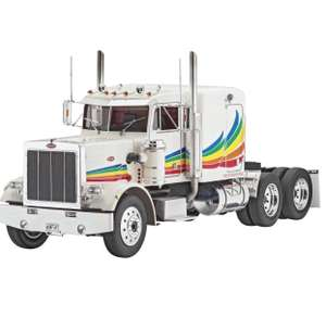 "Model kit: Revell 07455 50.7 cm ""Peterbilt 359 Conventional"" £39.49 Dispatched from and sold by CHELTENHAM MODEL CENTRE - Amazon"