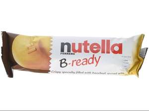 Nutella B-ready biscuits 22g x 36 £7.80 add on item @ Amazon